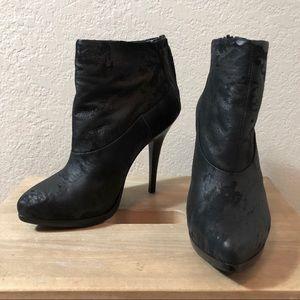 Allsaints Black Suede Chard Boots size 38
